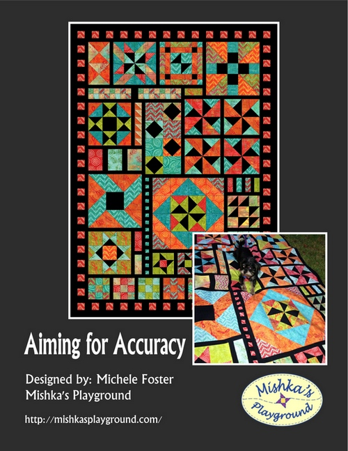 Aiming for Accuracy I - Skill Building Quilt Booklet