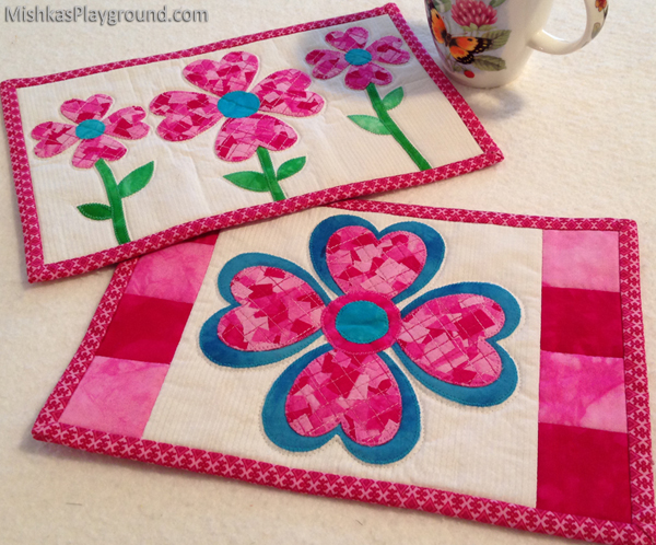 Patchwork Love Mug Rugs Aiming For Accuracy Pattern Co