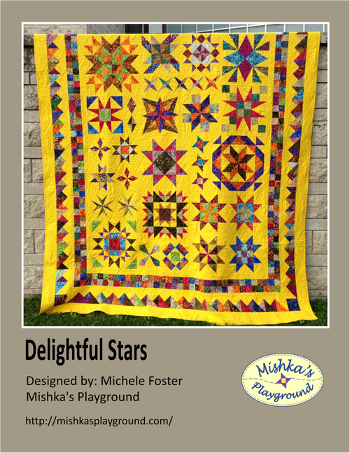 Delightful Stars - Learn to Quilt Booklet