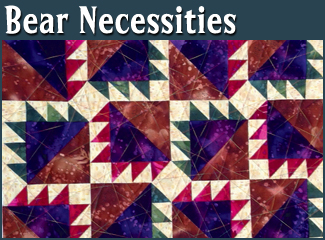 Bear Necessities Quilt Pattern
