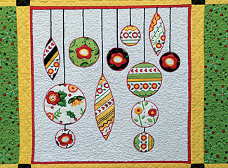 Christmas Ornaments Fusible Quilt Pattern