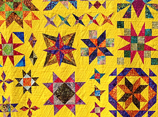 Learn to Quilt - Delightful Stars