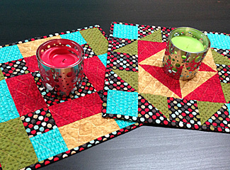 Friendship Candle Mats Quilting Pattern