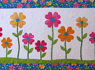 Love-ly Garden Fusible Quilt Pattern