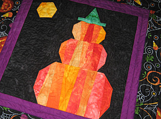 Pumpkin Topiary Quilt Pattern