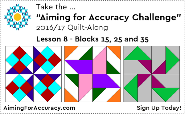 Lesson 8: Blocks 15, 25 and 35