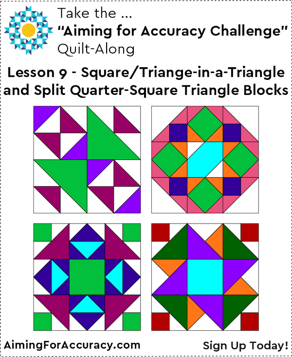 Lesson 9: Blocks 13, 19, 21, 22