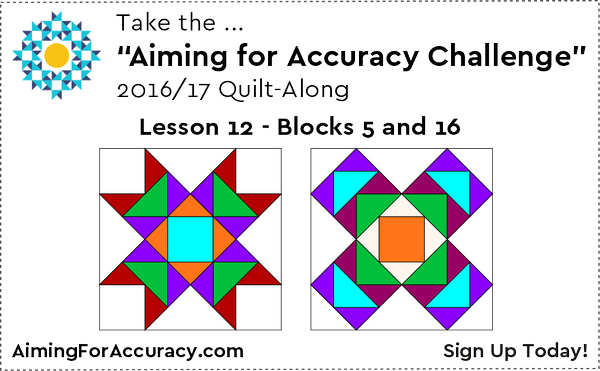 Lesson 12: Blocks 5 and 16