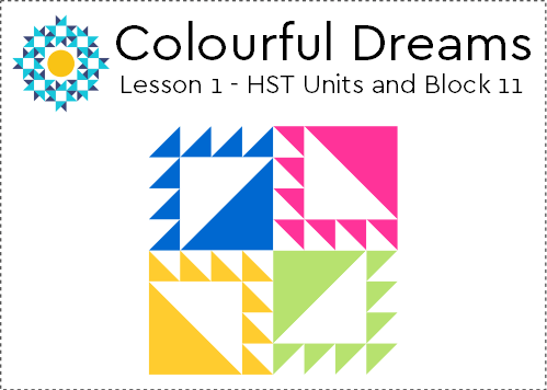 Colourful Dreams Lesson 1